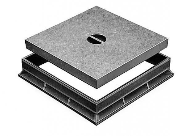 Schachtdeckel für Revisionsschacht 40 x 40cm